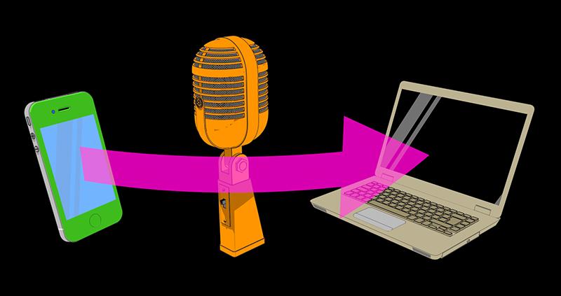 Wykorzystanie telefonu komórkowego w roli mikrofonu